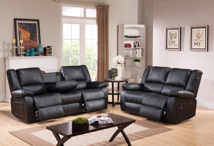 *-*-* SALE *-*-* NEW Leather Recliner Sofas Free