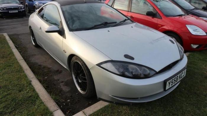 2001 FORD COUGAR 2.5 V6 3D 168 BHP