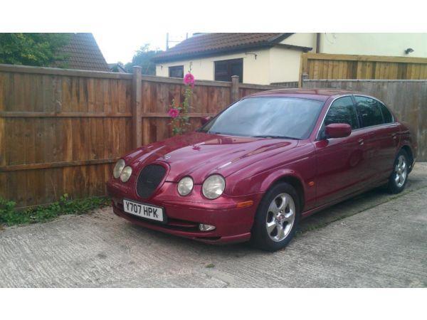 2001 jaguar s type 114,000 miles mot till dec 2014