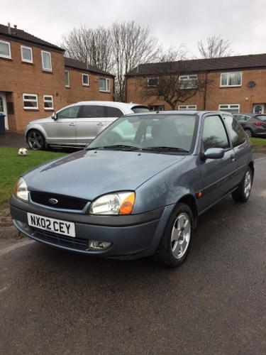 2002 Ford Fiesta 1.2 Zetec Petrol 8 Months Mot Low