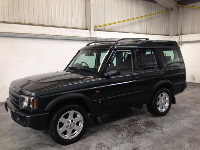 2002 Land Rover Discovery 2.5 Td5 ES Premium 5dr (7