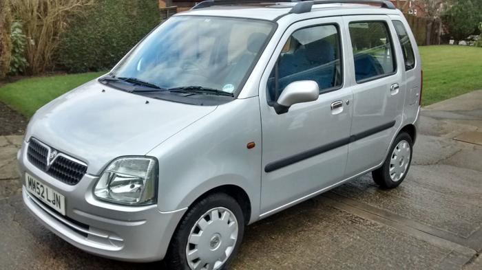 2002 Vauxhall Agila Club 5dr 1.2 16v **Low Mileage**