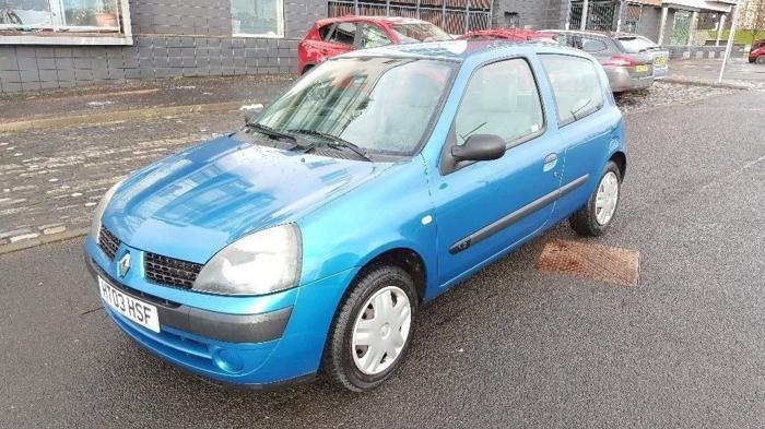 2003 Renault Clio Authentique 1.1 Petrol 6 Month MOT