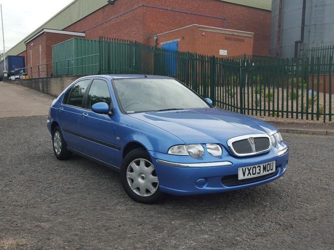 2003 Rover 45 1.4 Spirit Full Service History Cheap
