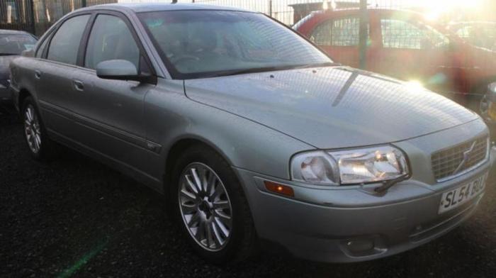 2004 54 VOLVO S80 2.4 D5 SE 4D AUTO 161 BHP DIESEL