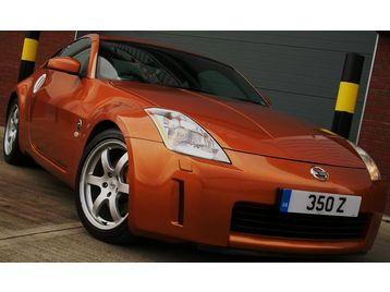 2004 NISSAN 350Z GT **stunning in Sunset Orange**