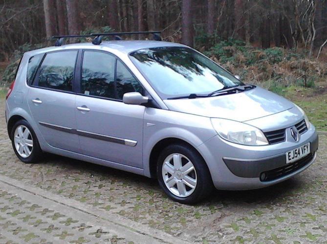 2005 Renault Scenic 1.6 Dynamique. New MOT (No