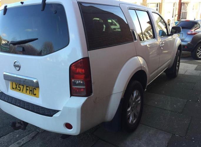 2008 57reg Nissan Pathfinder Trek 2.5 DCI White 7