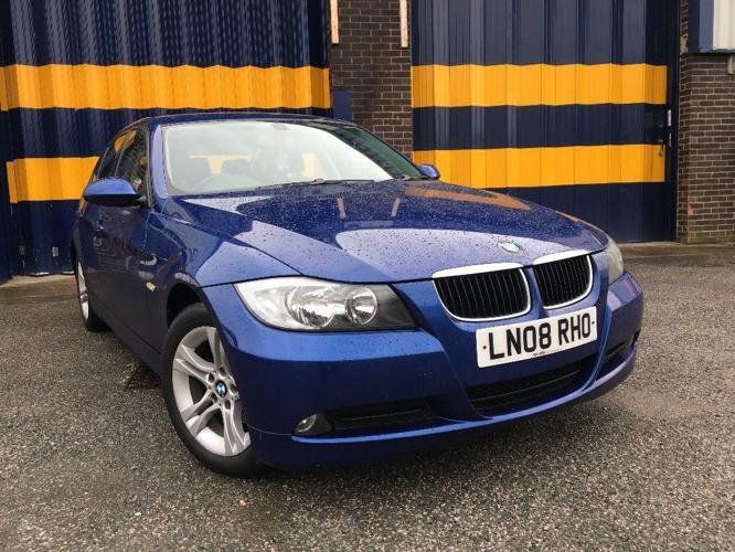 2008 BMW 318D SE 4DR NO DEPOSIT FINANCE £120 OVER 36