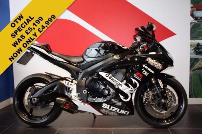 2009 09 SUZUKI GSXR 600 K8 RELENTLESS