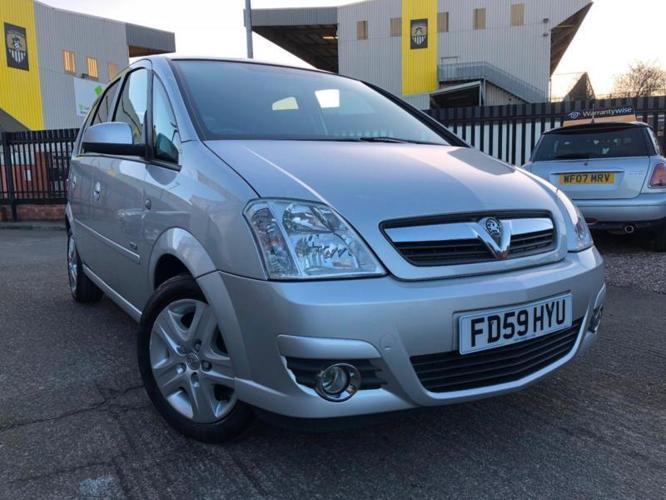 2010 Vauxhall Meriva Design 1.4 Petrol Twinport **