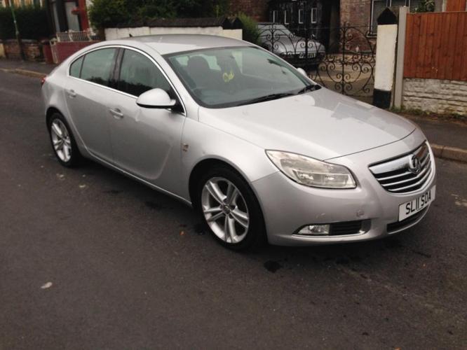 2011 11reg Vauxhall Insignia 2.0 cdti Sri Silver