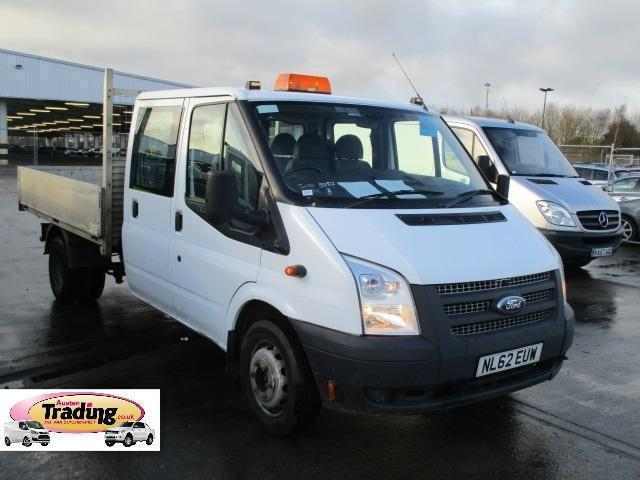 2013 FORD TRANSIT 350 DRW TDCI DOUBLE CAB 9FT ALLOY