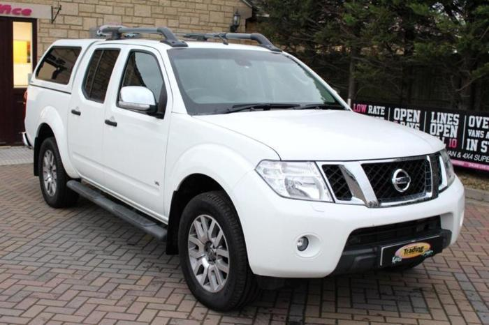 2013 NISSAN NAVARA OUTLAW DCI 4X4 DOUBLE CAB WITH
