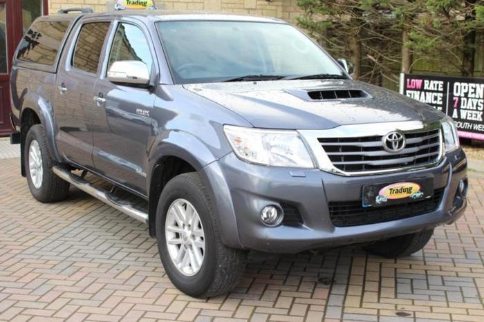 2013 TOYOTA HILUX INVINCIBLE 4X4 D-4D DOUBLE CAB WITH