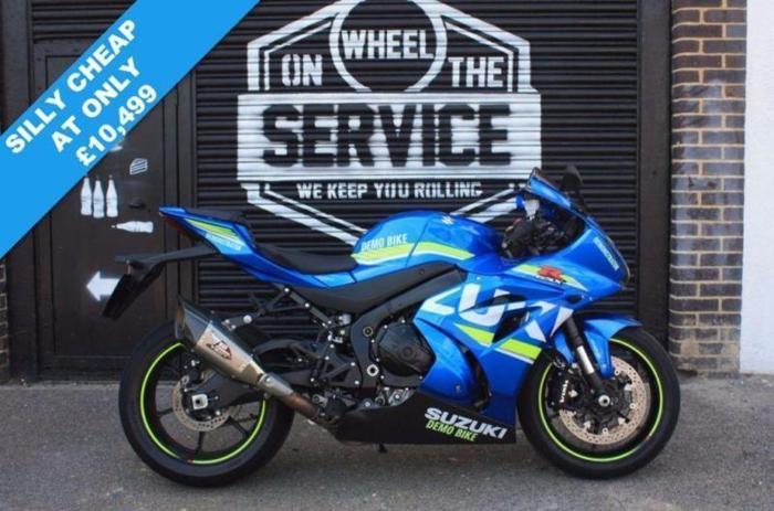 2017 17 SUZUKI GSX-R1000 L7 ABS MOTO GP, BLUE LOW
