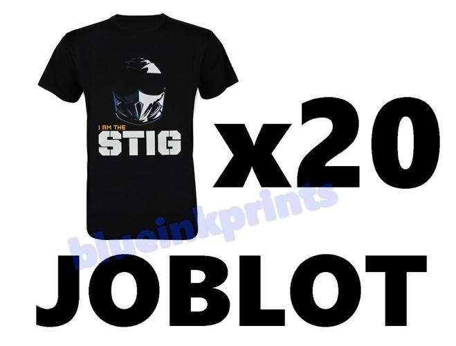 20x Joblot Top Gear Tshirts