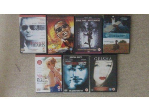 21 Random Films. DVDs