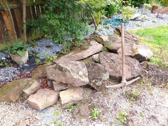 25 very large rockery rocks stones
