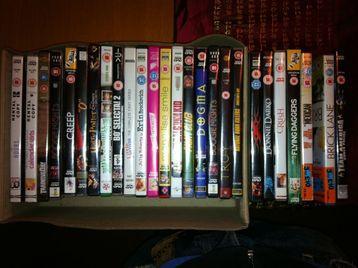 26 DVD's