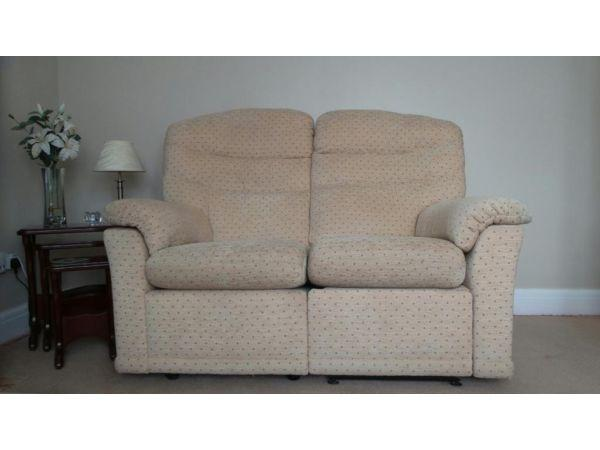 2 & 3 seater settees by G Plan with power recliners