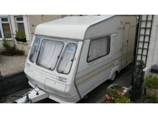 2 birth Abbey GT 212 1989 Caravan
