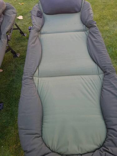 2 nash indulgence bedchairs