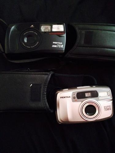 2 Pentax cameras