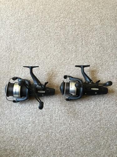 2 x Shimano st 10000ra bait runners