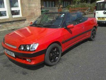 306 CABRIOLET, CHEAP 400 ONO