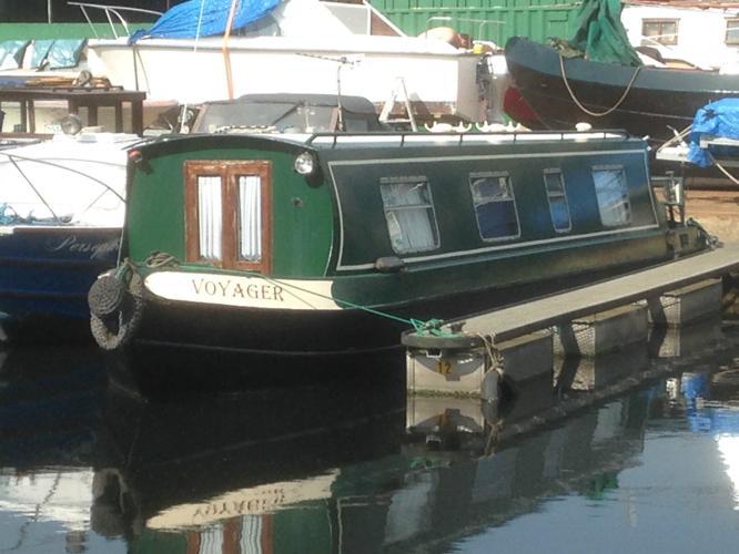 35ft 1995 Cruiser Stern Narrow Boat