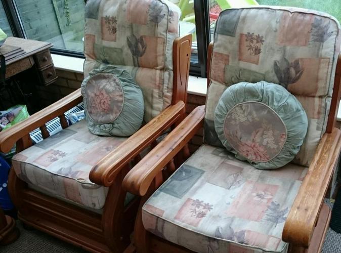3 piece conservatory furniture set