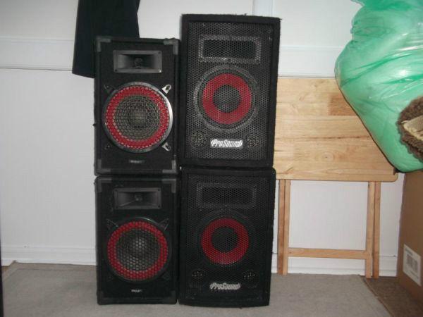 4 speakers for £20
