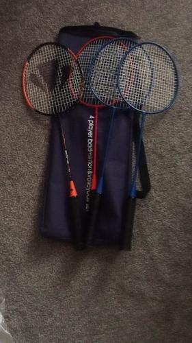 4x badminton rackets