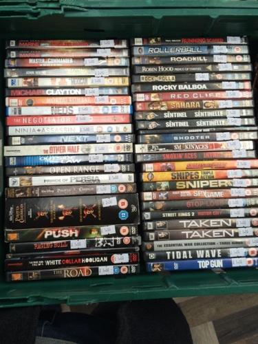50 DVD Job Lot