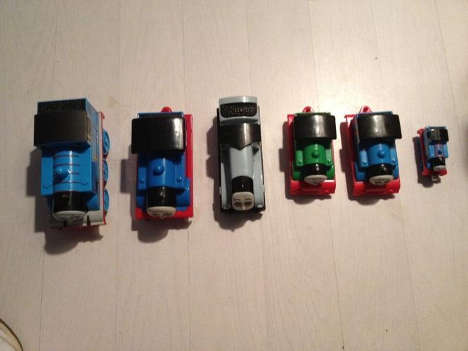 6 Thomas The Tank Engines