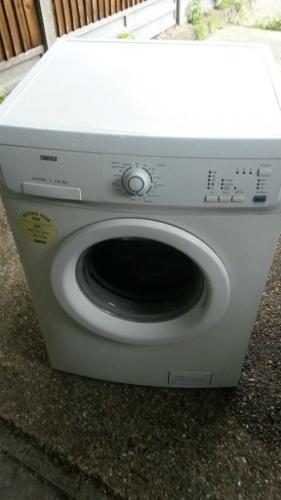 6kg white washing machine