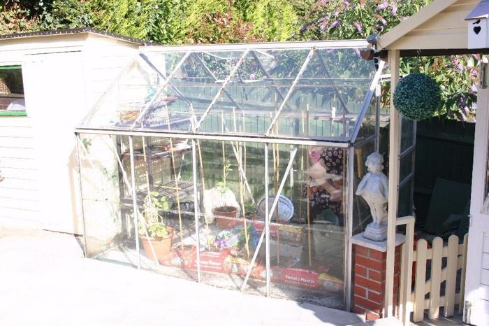 8'x6' Aluminium Greenhouse