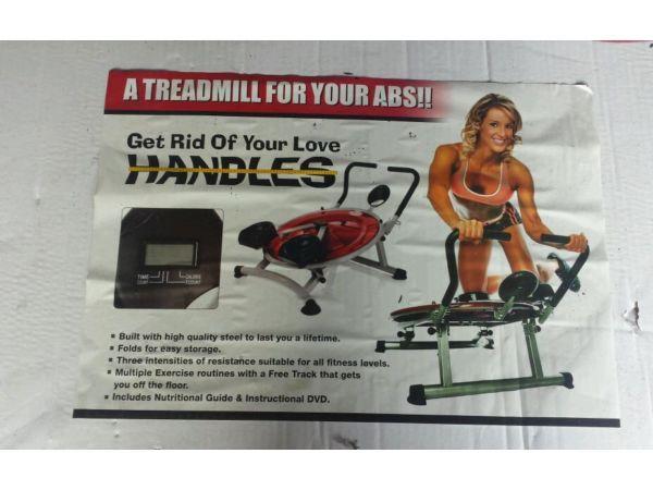 Abs exercise machine