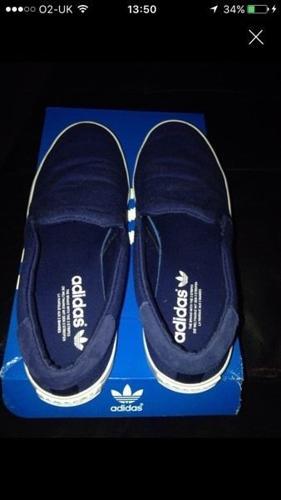 Adidas pumps/slip on's