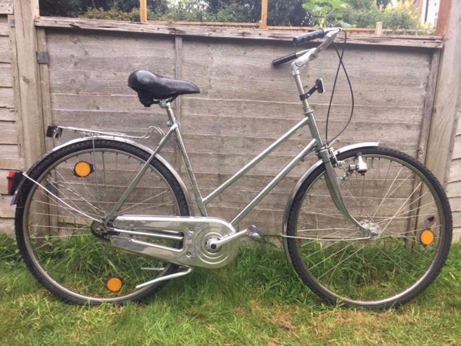 Alpina K vintage bicycle - EVERYTHING CHROME -