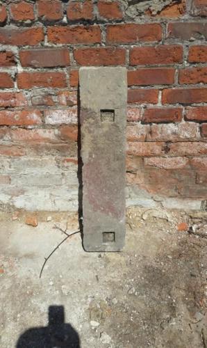 Antique sandstone door step aprox1860