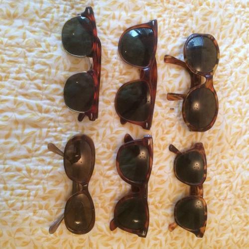 Antique/vintage sunglasses 70's/80's (6)