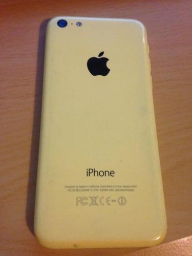 apple iphone 5c yellow ON EE