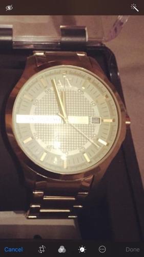 Armani Exchange Men's watch £80