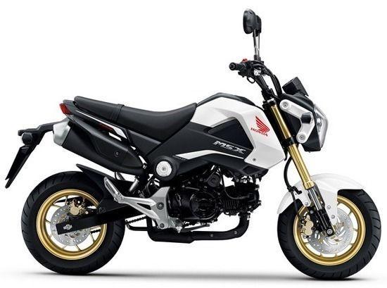 As new Honda MSX125
