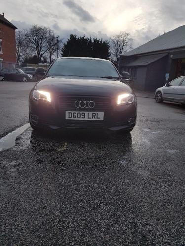 Audi A3 Black Edition.