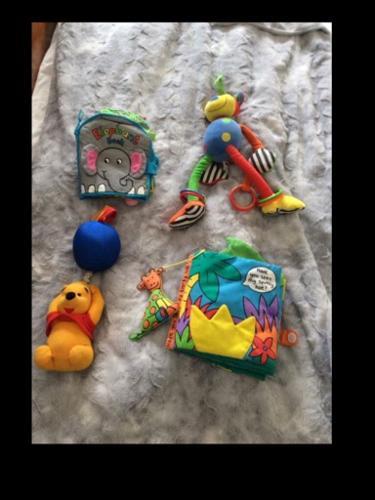 Baby soft toys