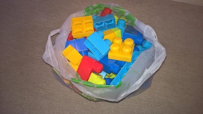 bag of mega bricks