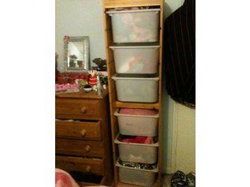 BARGAIN QUICK SALE IKEA Trofast kids storage combi unit
